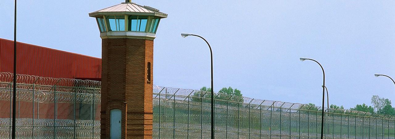 Prison Guard Tower Milan, Michigan, USA