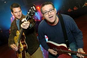 Adam Gardner and Dave Schneider = THE LEEVEES