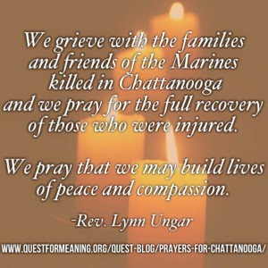Prayers for Chattanooga