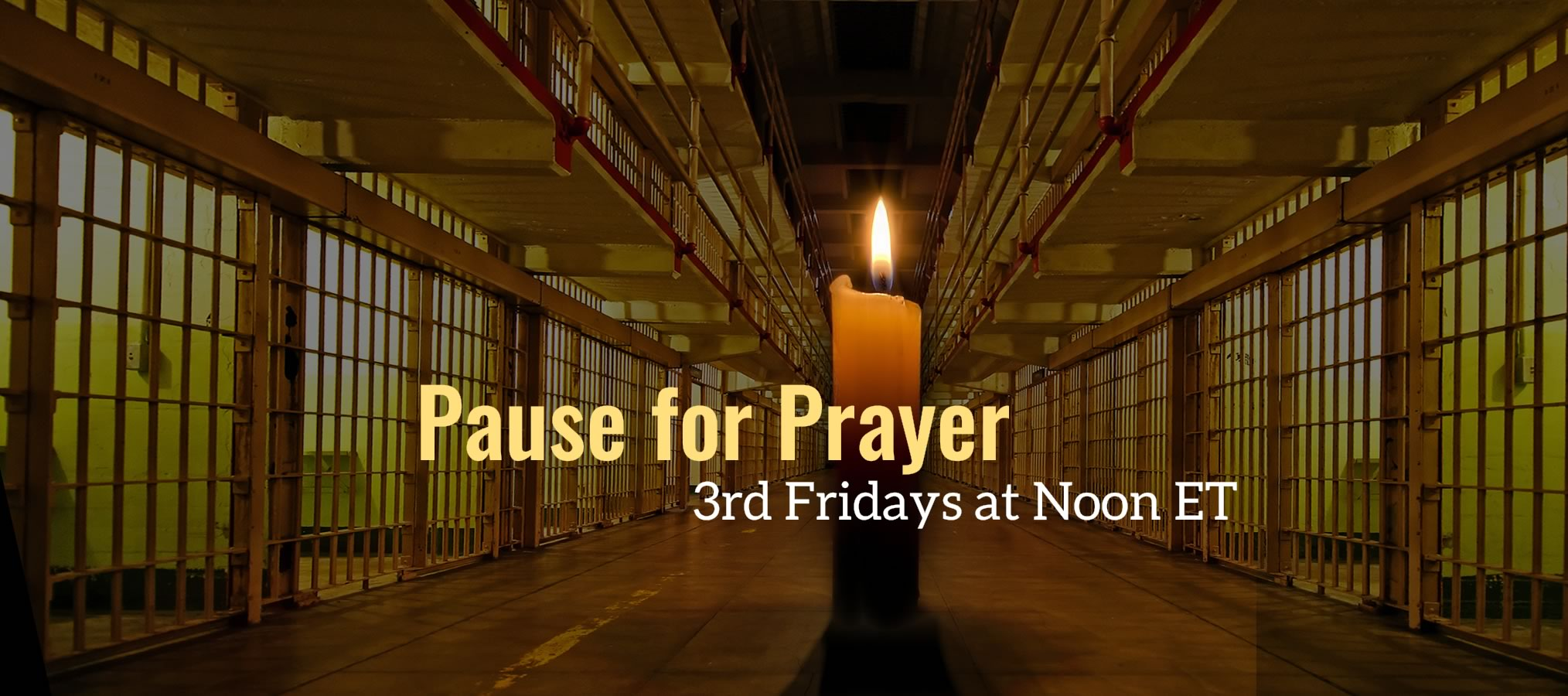 Pause for Prayer with the CLF Prison Ministry - Quest for