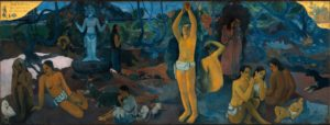 Paul Gauguin - D'ou venons-nous (1896) Museum of Fine Arts Boston