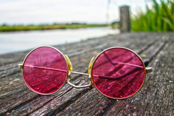 f8c4bbe04a5 Rose Colored Glasses. Seeing the world through ...